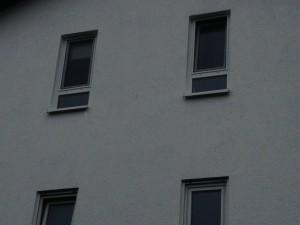 Fenstersicherung mittels Edelstahlnetz